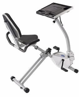 Stamina 15-0321 -  2-in-1 Recumbent Cycling Workstation/Stan