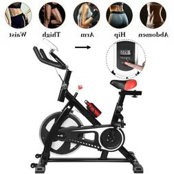 Black Bicycle Cycling Fitness Exercise Stationary Bike Cardi