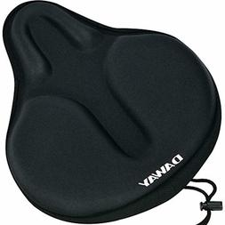 Comfortable Exercise Bike Seat Cover - DAWAY C6 Large Wide F