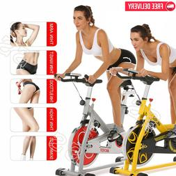 Ancheer 49LB Bicycle Cycling Fitness Exercise Stationary Bik