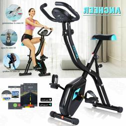 ANCHEER Exercise Bike Folding 3 in 1 Stationary bicycle Fitn