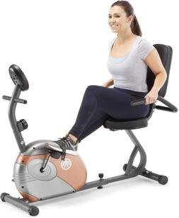 Exercise Bike Home Fitness Magnetic Resistance Cozy Seat Gym
