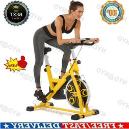 ANCHEER Exercise Bike Indoor Cycling Bicycle Belt Drive Bike