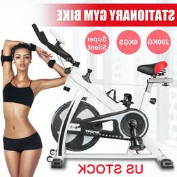 Exercise Bike Indoor Stationary Gym Bicycle Cycling Sports F