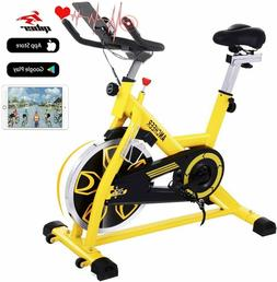 ANCHEER Indoor Cycling Bike Stationary Exercise Bikes w/ LCD