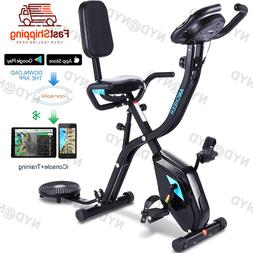 ANCHEER Indoor Exercise Slim Folding Bike,3 in1 Home Station