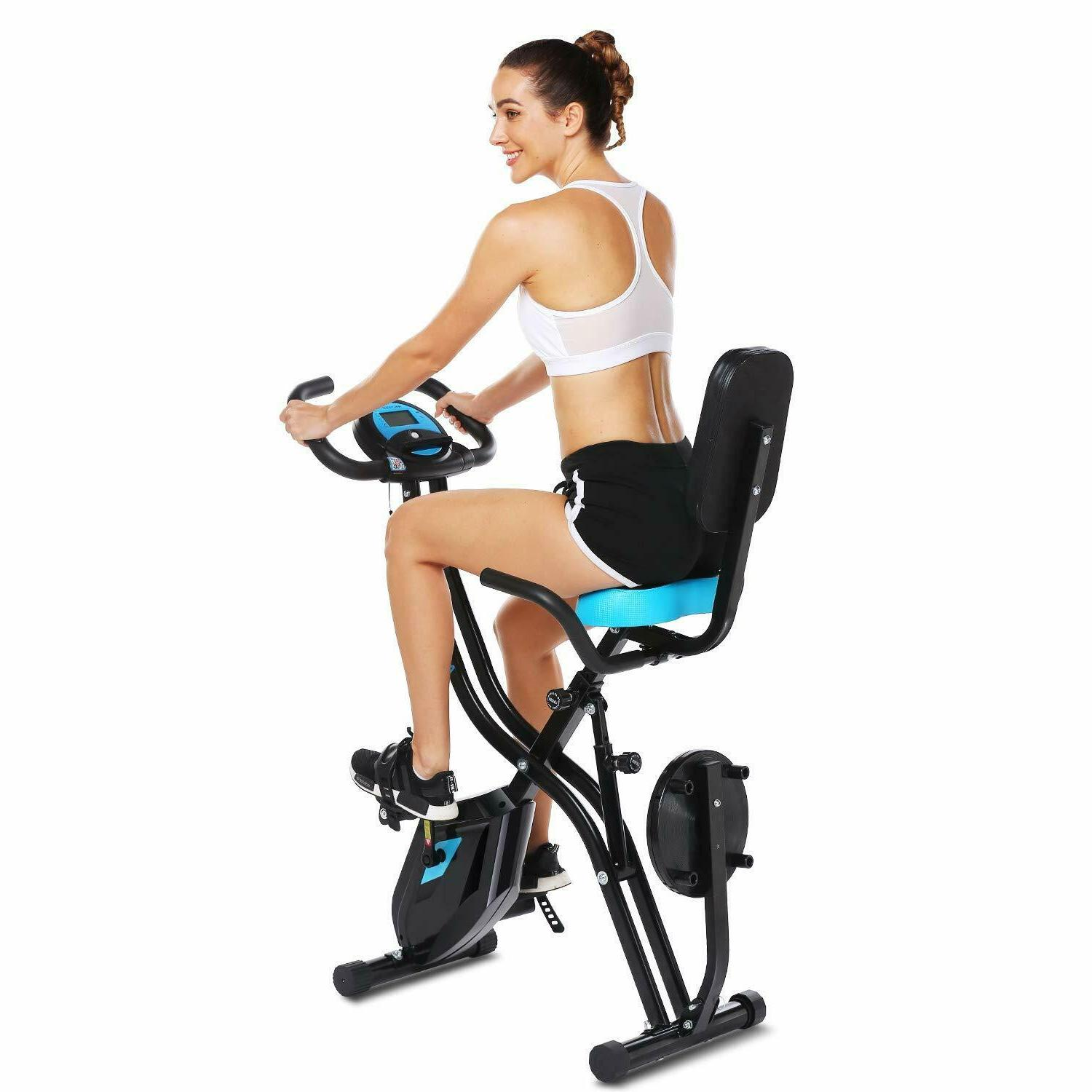 ANCHEER Exercise Cycle Indoor w/10Level&