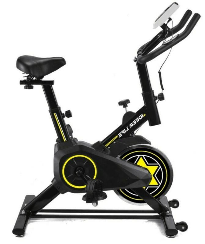 Indoor Gym Cycling Home Exercise Bike Cycle Trainer Adjustab