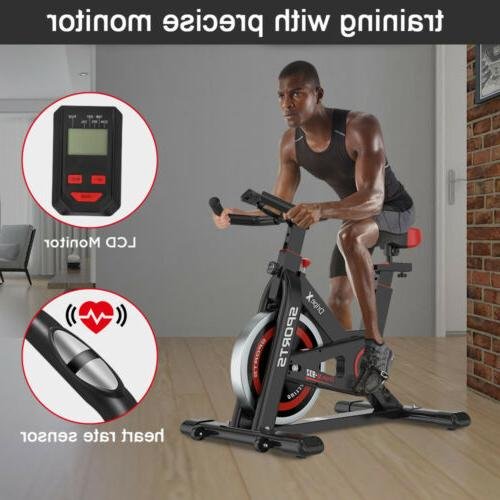 Black Bike Bicycle Indoor Cycling Fitness Gym