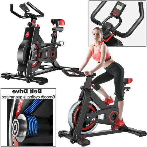 black exercise stationary bike cycling home gym