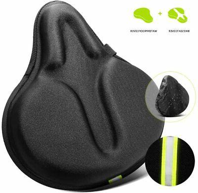 comfortable bike seats cushion cover extra soft