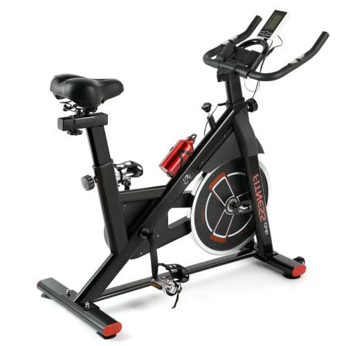 Cycling Bike Exercise Stationary Bike W/phone Mount Cardio Workout Home Indoor