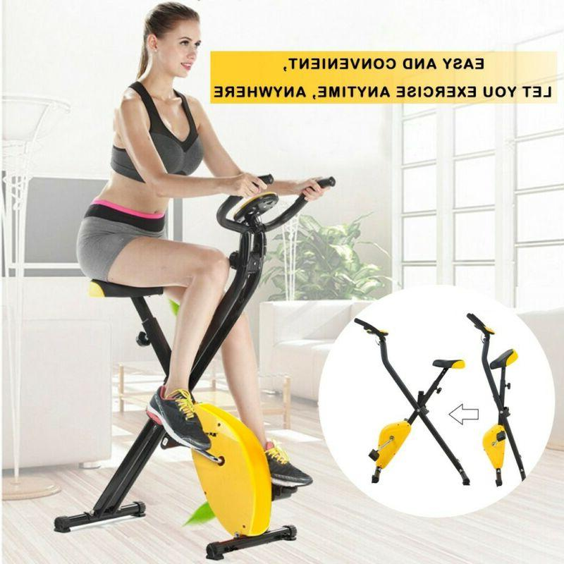 Exercise Bike Workout Health Fitness Portable Upright Exerci