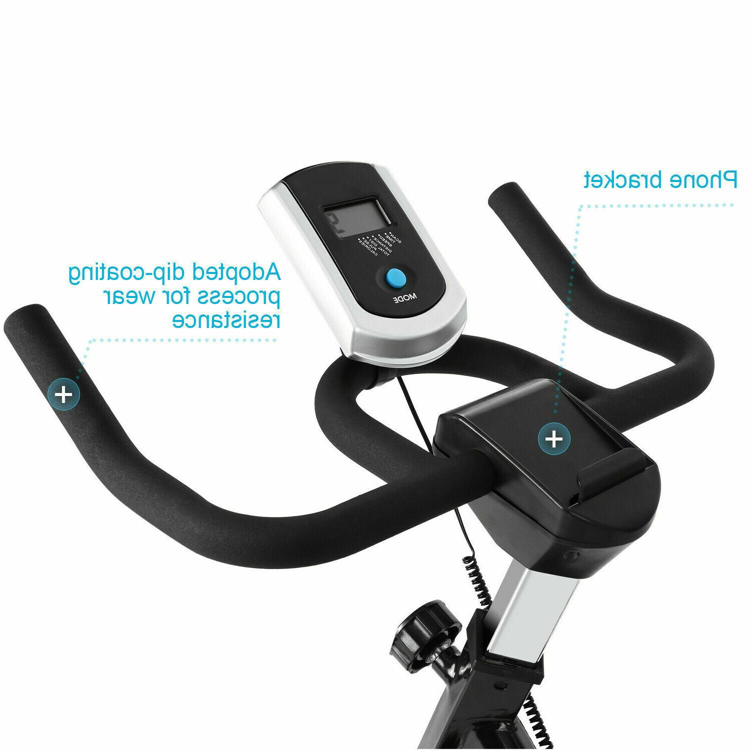 Exercise Stationary Indoor Cycling Workout &