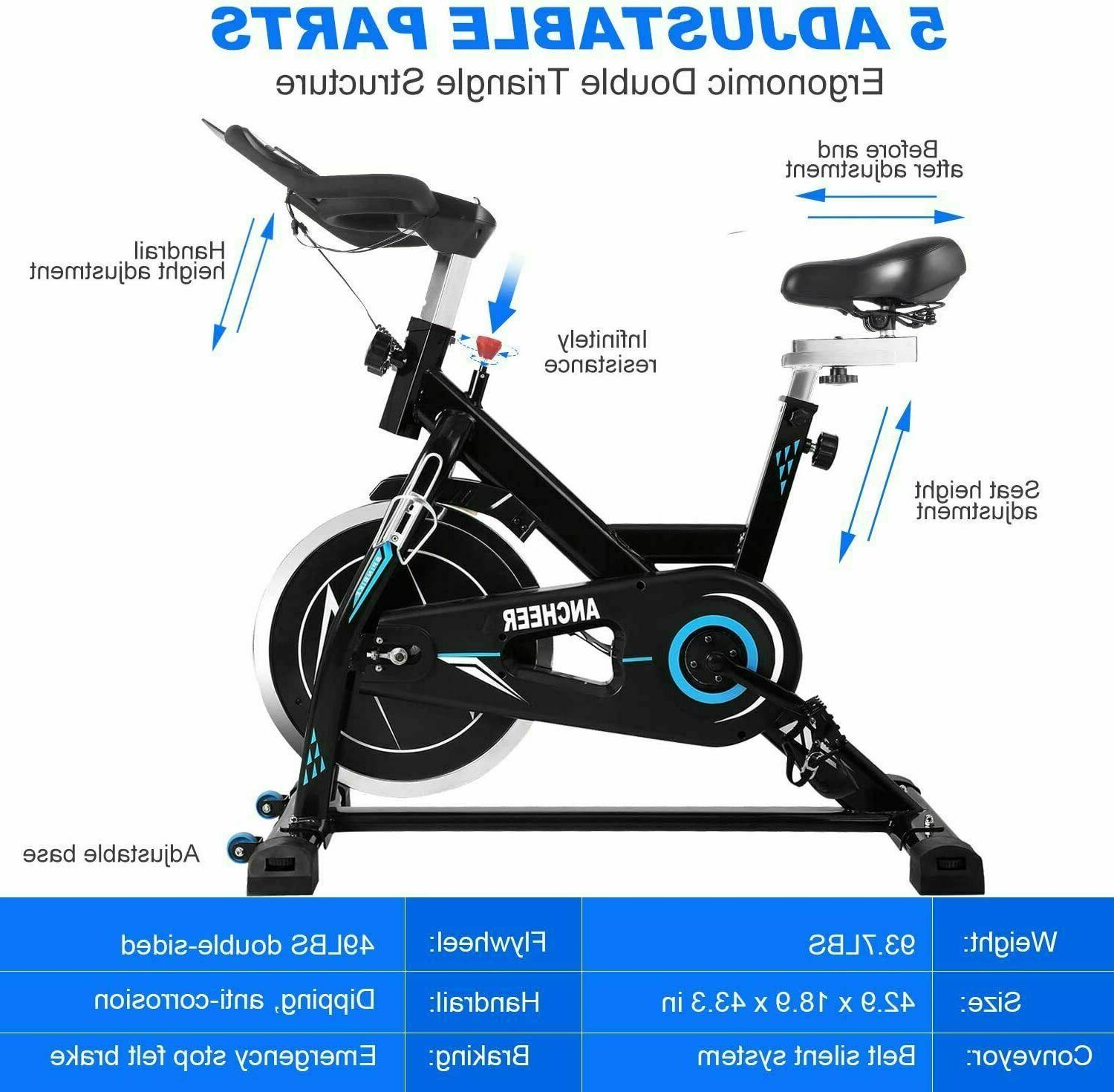 Exercise Stationary Indoor Cycling Workout Gym