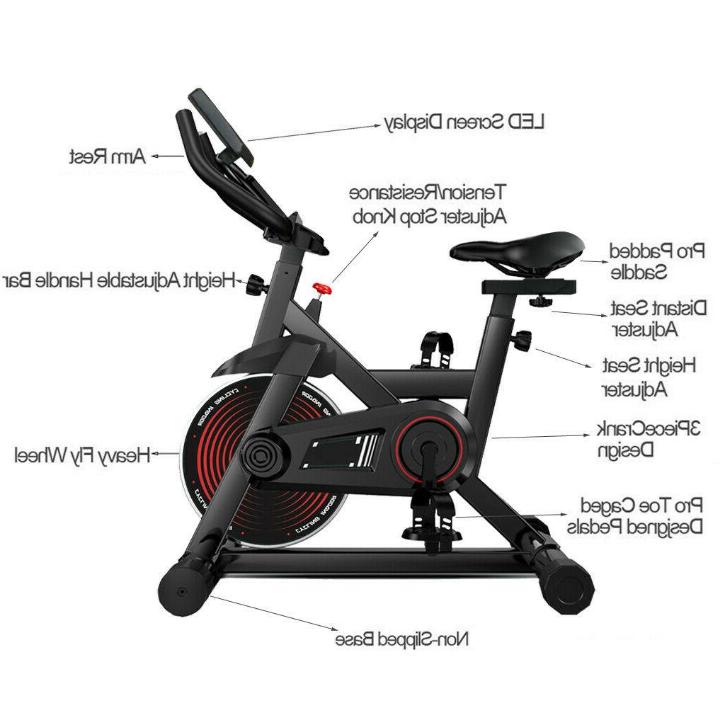 Indoor Cycling Exercise Bike Gym Bike Office