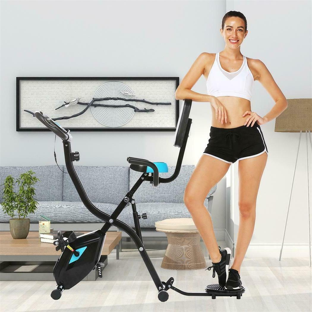 Foldable Exercise Recumbent LCD Monitor