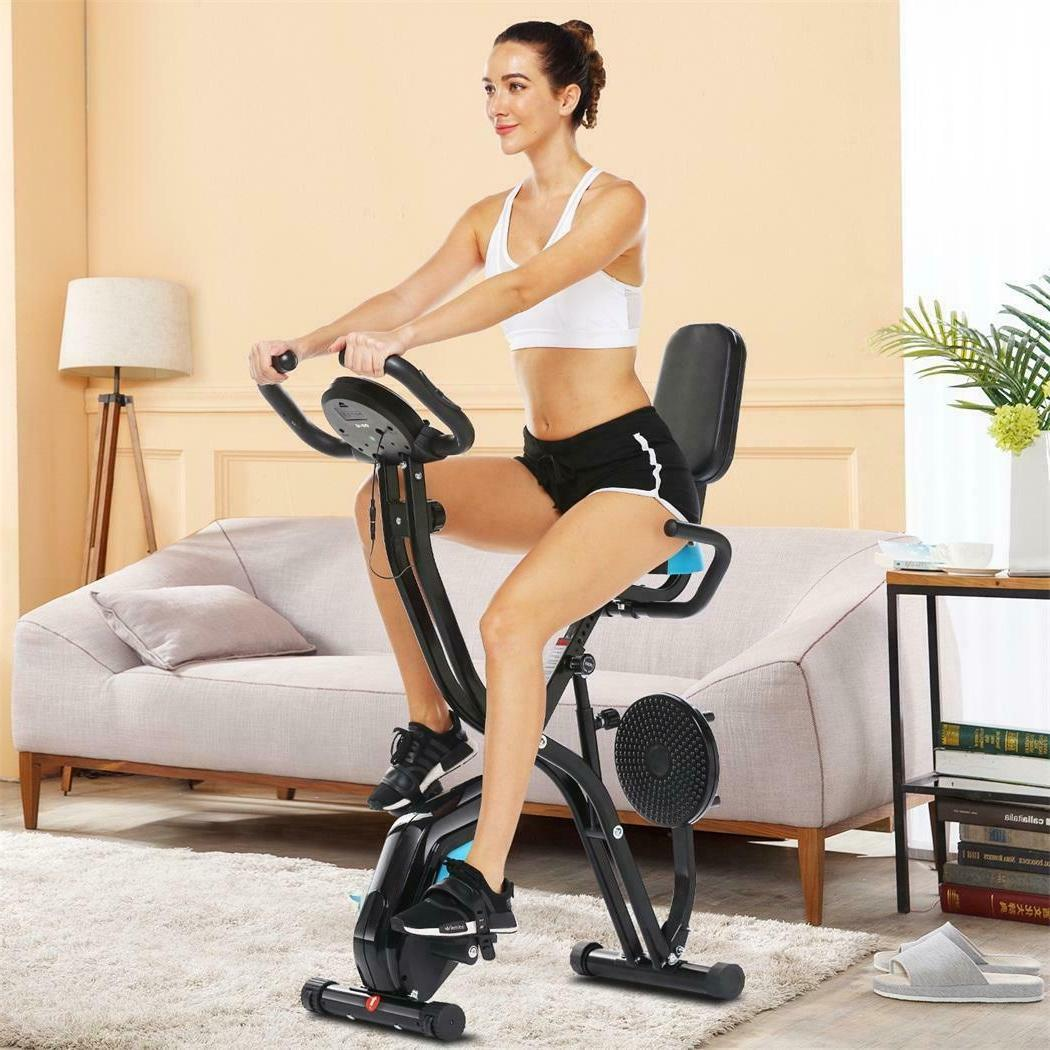 Foldable Exercise Recumbent LCD Gym