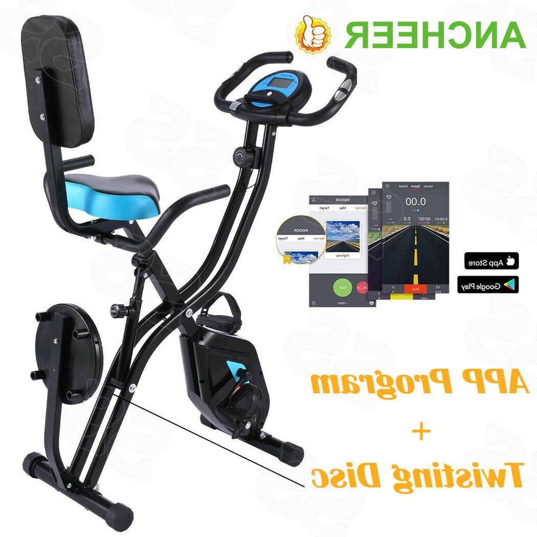 foldable exercise bike 3in1 recumbent cycling equipment