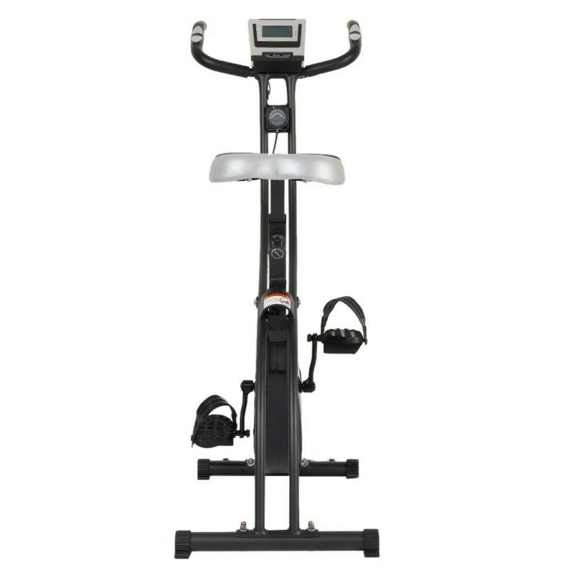 Folding Stationary Bike Cycling Home Workout Indoor Fitness