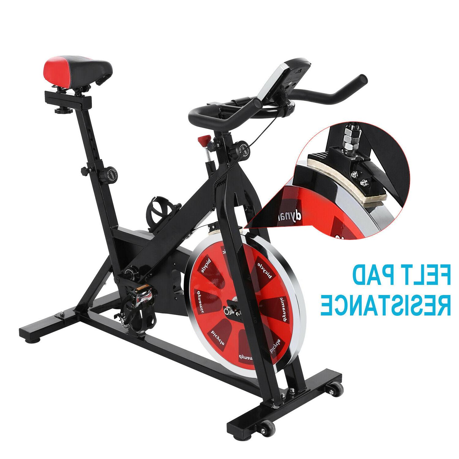 Foldable Stationary Upright Exercise Workout Cycling