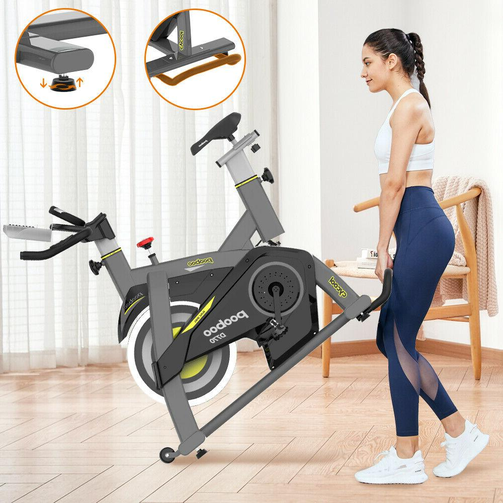 Indoor Cycling Workout Magnetic Fitnes Stationary Exercise Bike