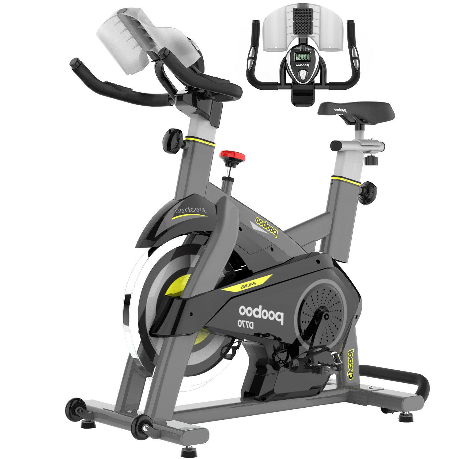 Indoor Cycling Bike Cardio Workout Bike Magnetic Fitnes Stat