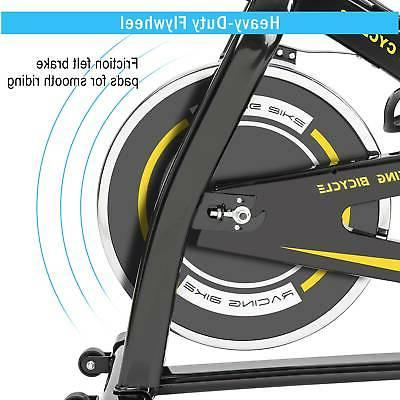 Indoor Cycling with Comfortable Seat Belt System