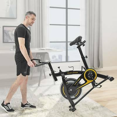 Indoor Cycling Bike with Comfortable Seat Belt Drive System