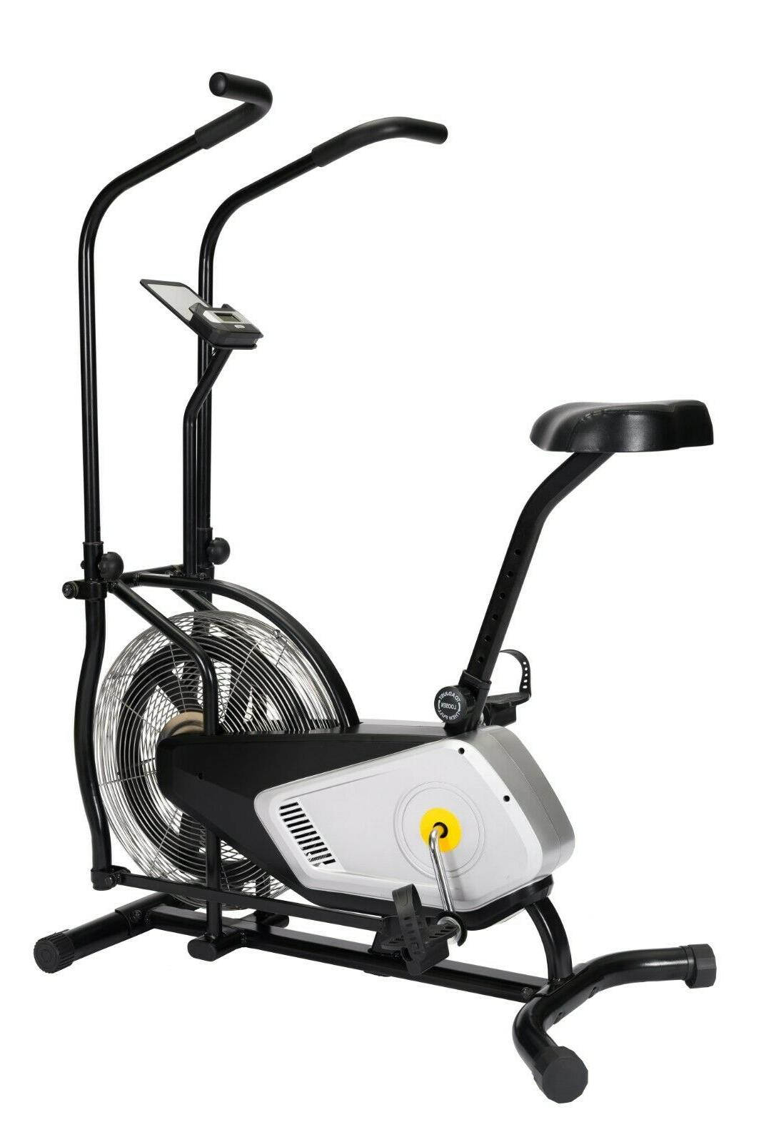 Indoor Exercise Bike Air Cycling Bike Design Home Gym Use Co