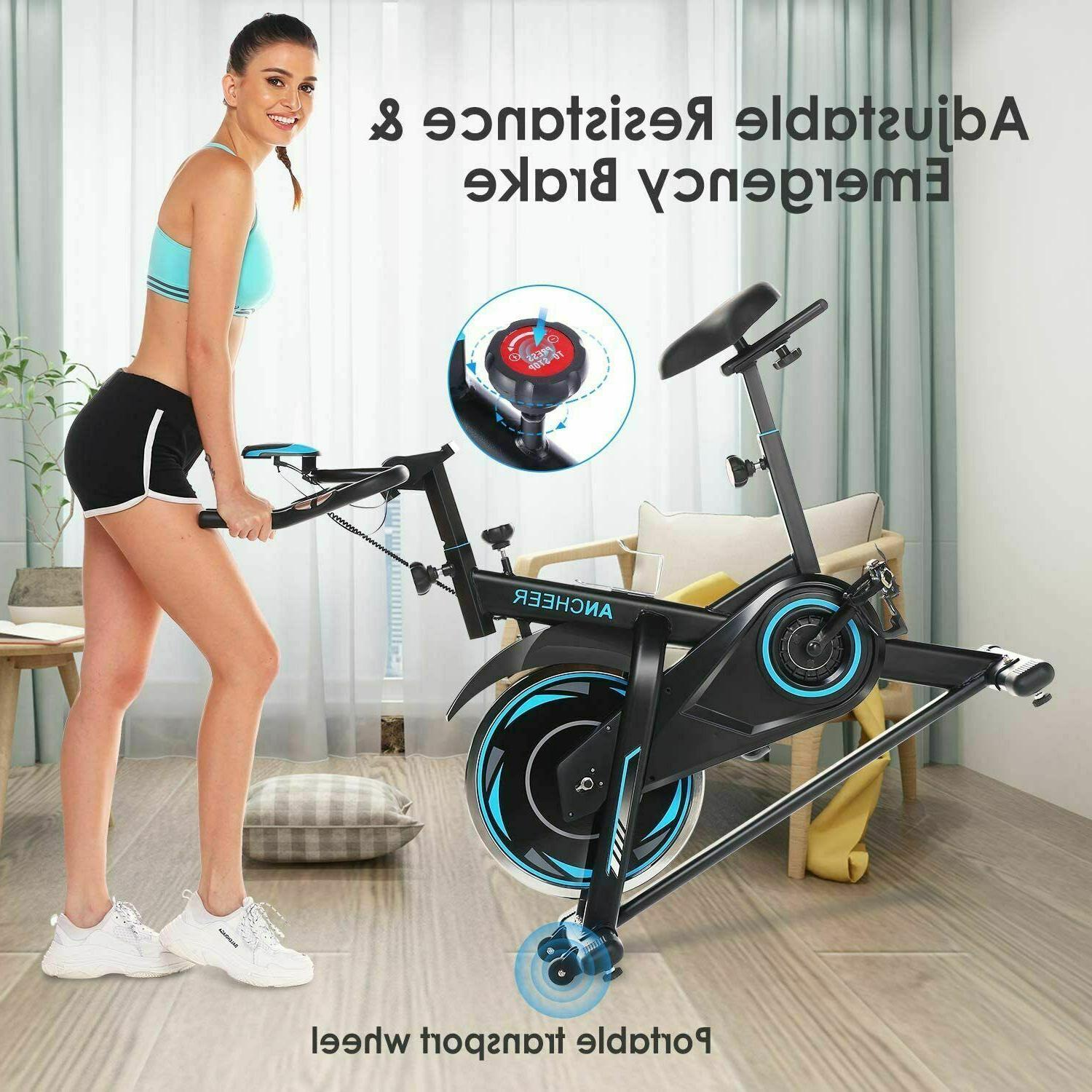 ANCHEER Stationary, Cycling w/ Rate
