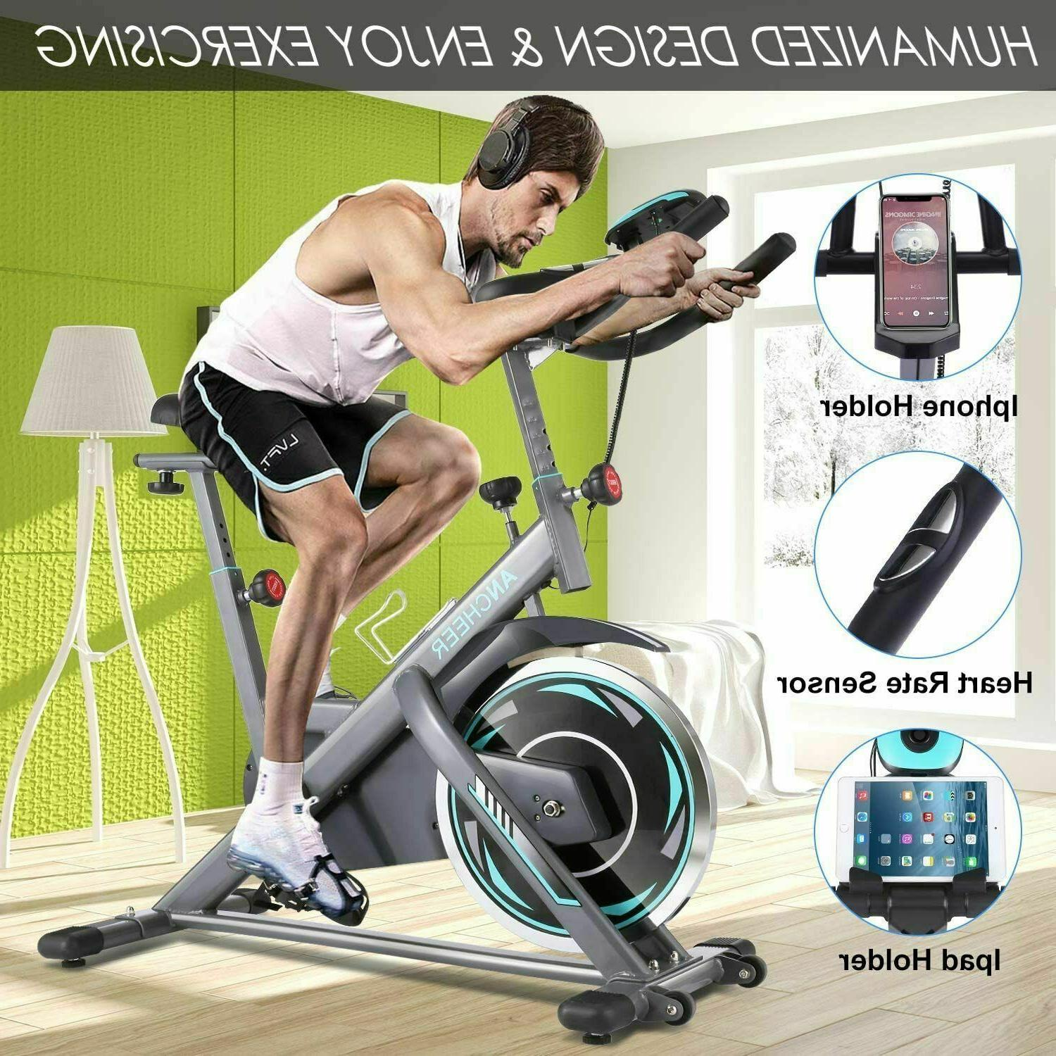ANCHEER Indoor Stationary Cycling Fitness Workout//