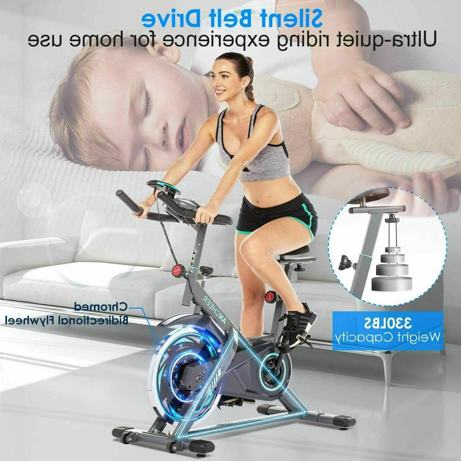 ANCHEER Indoor Exercise Stationary Fitness Workout//