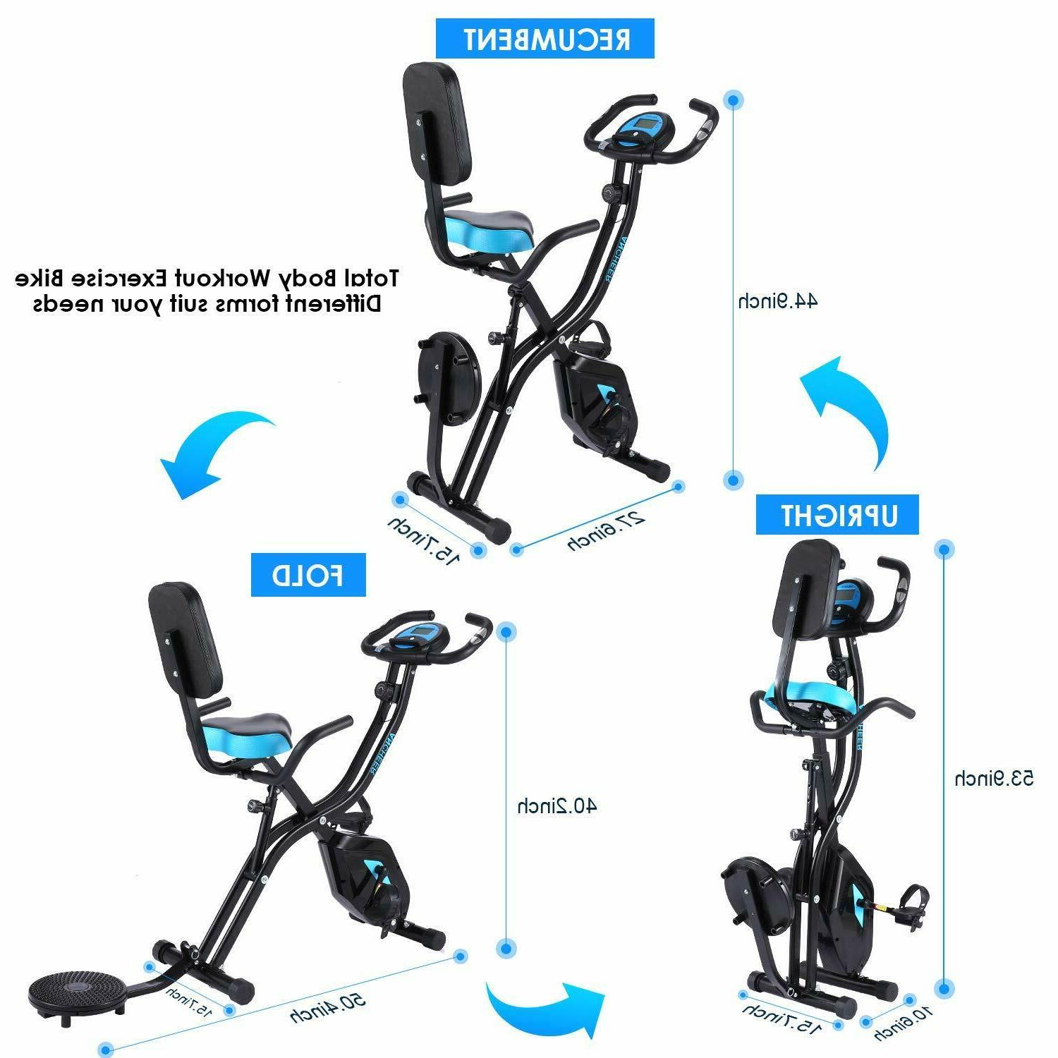 ANCHEER Folding in1 Stationary Cycle