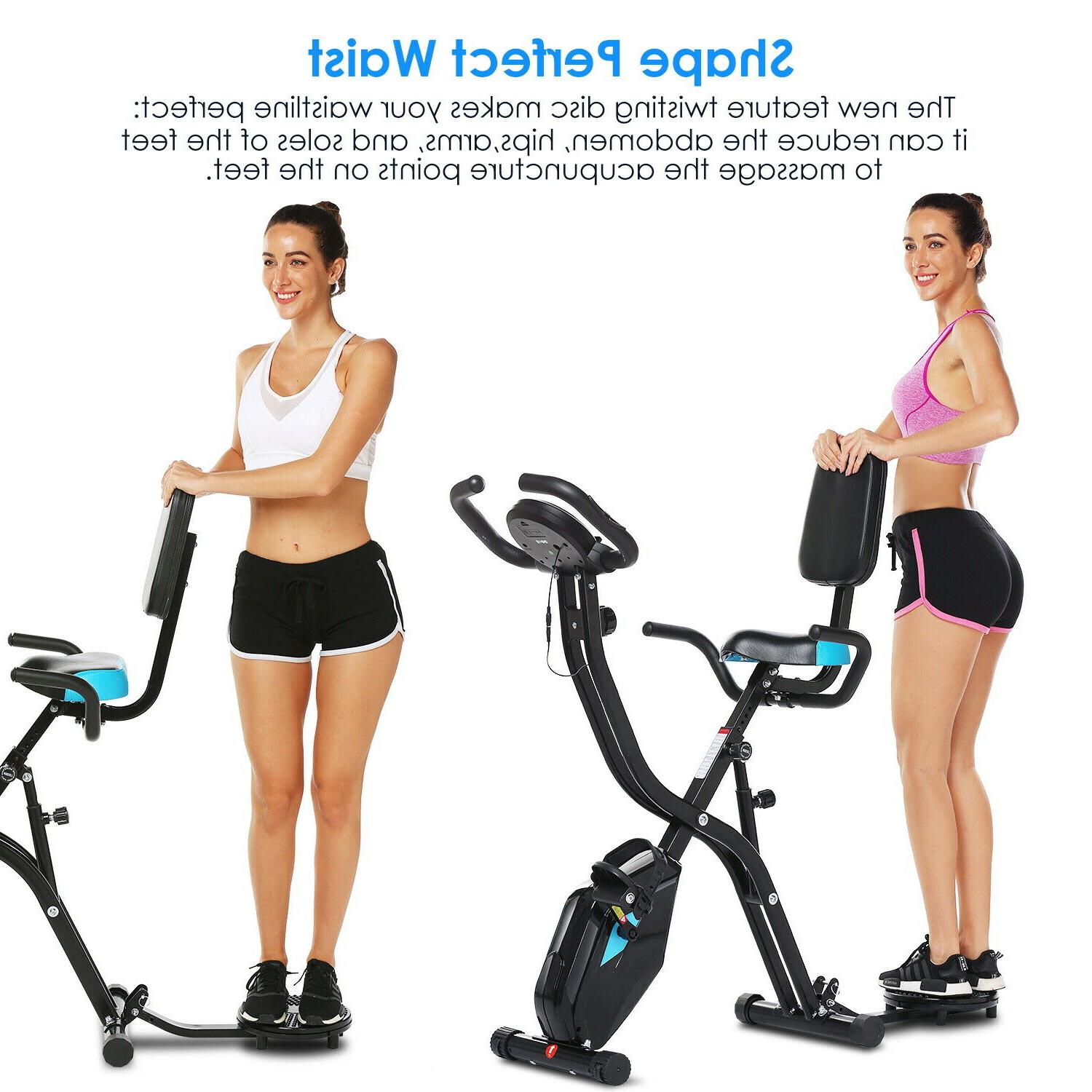ANCHEER Folding Indoor Cycling Exercise with