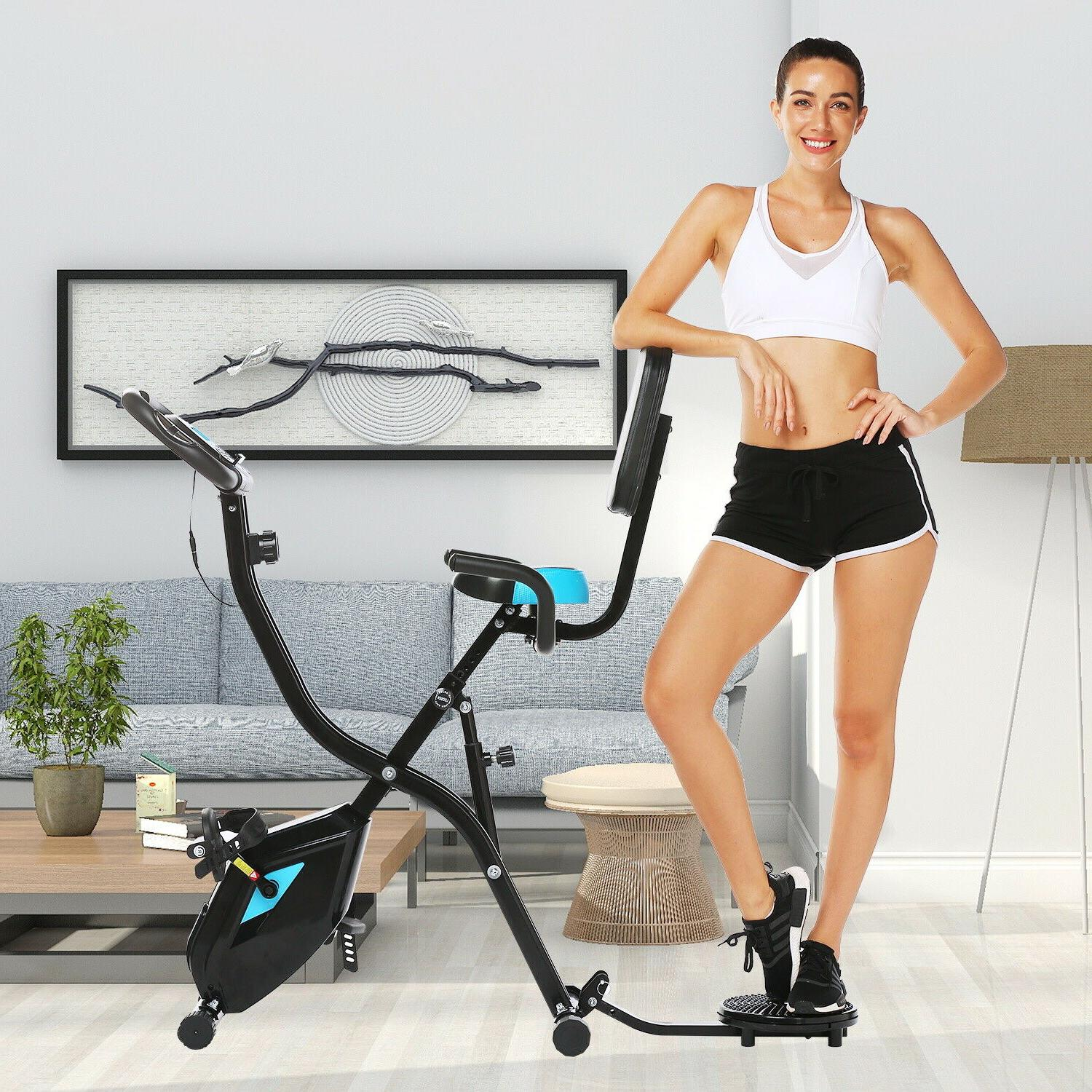 ANCHEER Indoor Bike with LCD