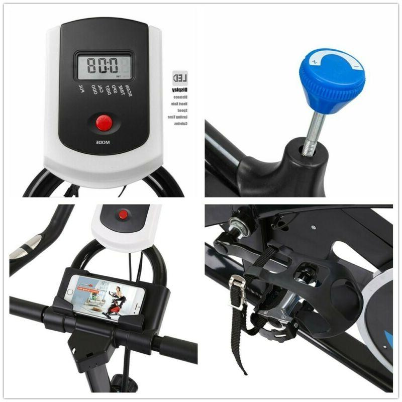 Exercise Stationary Bicycle Fitness Gym Bike Cardio Workout Bicycle