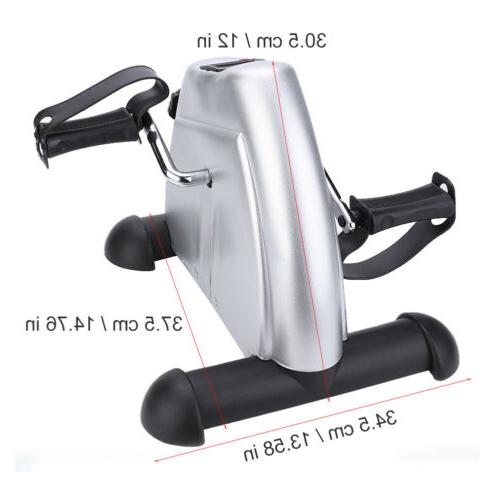 Exercise Cycle Fitness Mini Pedal Stepper Indoor LCD Display