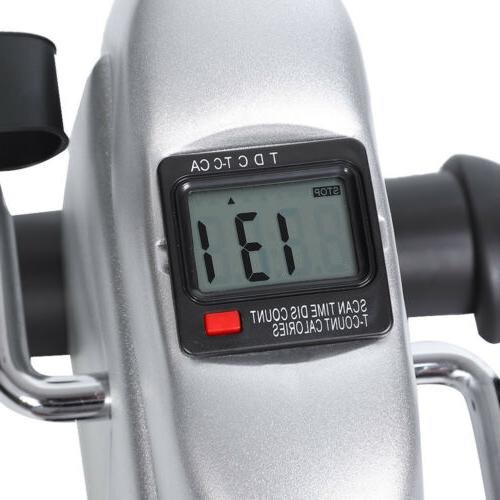 Exercise Cycle Mini Indoor 4 Legs LCD Display