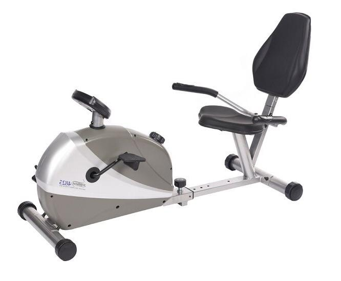 new 15 4825 magnetic recumbent cycle exercise