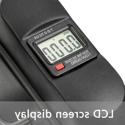Pedal Exerciser Under Mini Leg Bike with LCD Display