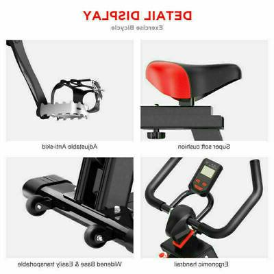 Indoor Bike Cycling Cardio Gym Workout LCD