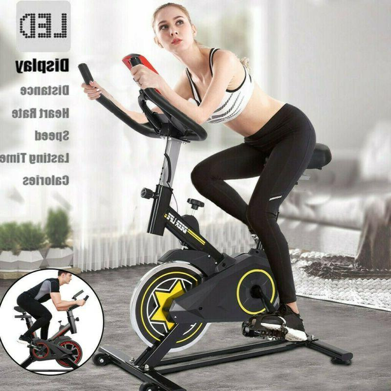 pro exercise bike stationary bicycle trainer fitness