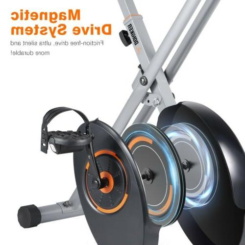 Foldable Magnetic Stationary Indoor Cycling Gym Workout