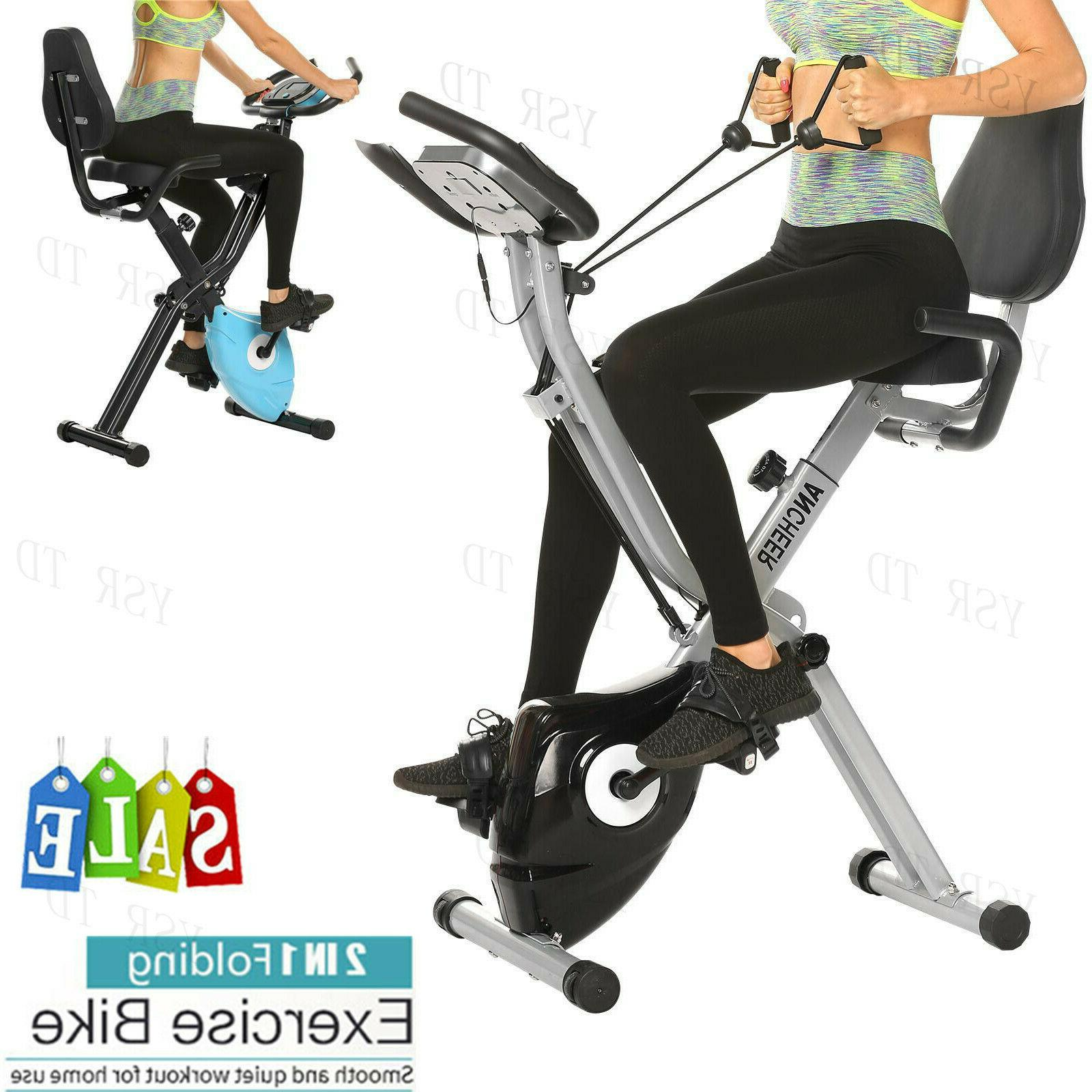 Ancheer 7-Type Exercise Bikes Stationary Training Indoor Hea