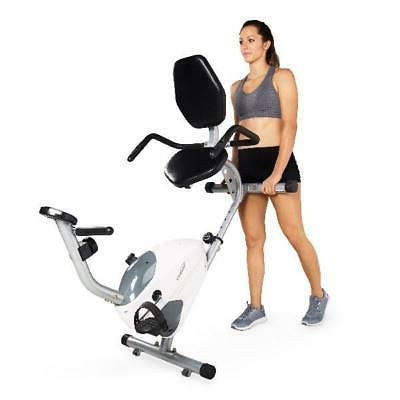 Recumbent Exercise Stationary Fitness Workout Trainer