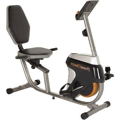recumbent exercise bike magnetic tension resistance workout