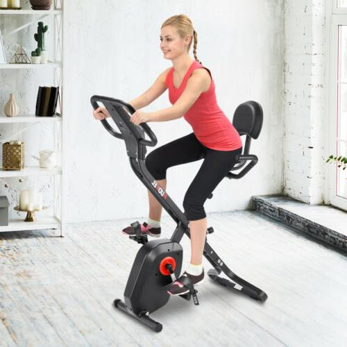 KUOKEL Folding Cycling Exercise Bike Fitness Bicycle Home Wo
