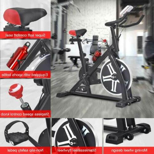 Exercise Bike Stationary Cycling Bicycle Fitness Gym Cardio