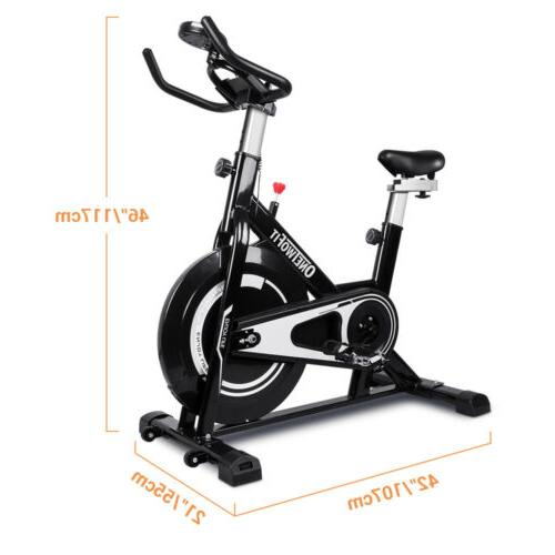 Stationary Exercise Bike Cycling Workout